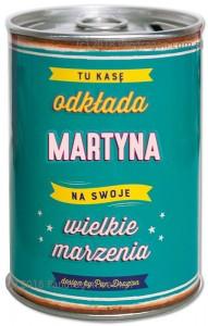 Skarbonki z imieniem - Skarbonka z imieniem Martyna PRZECENA