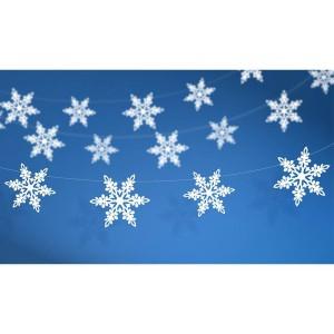 "Girlandy kształty - Girlanda ""Śnieżynki"" / GRL19-1"