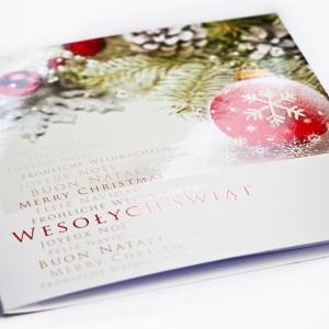 Kartki Świąteczne - Kartka świąteczna na Boże Narodzenie / CH-0114