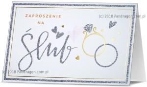 Zaproszenia ślubne gotowe - Zaproszenia ślubne / Z.STAR-14