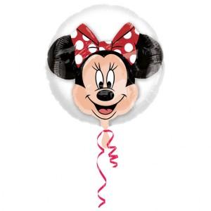 """Balon foliowy w balonie """"Myszka Minnie"""" 60x60cm"""