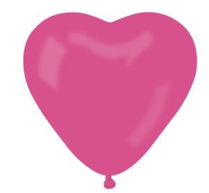 """Balon CR pastel """"Serce bez nadruku""""- """"różowy 07"""""""