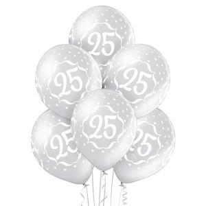 Balony lateksowe 25 Rocznica
