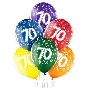 Balony lateksowe 70 Urodziny