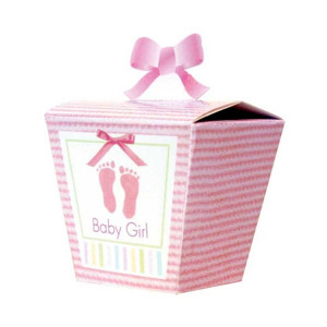 Pudełeczka dla gości Baby Girl