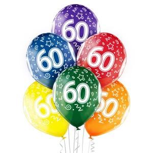 Balony lateksowe na okrągłe urodziny - Balony na 60 urodziny / 5000209