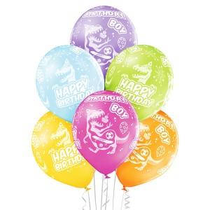 """Balony lateksowe z napisami - Balony urodzinowe z napisem """"Birthday Boy"""" / 5000226"""