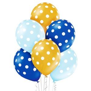 Balony lateksowe groszki i konfetti