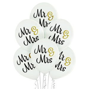 Balony na wesele lateksowe