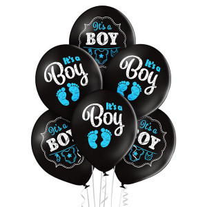 "Balony lateksowe ""It`s a boy"""