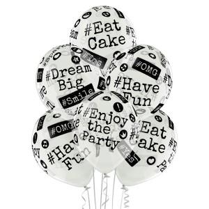 """Balony lateksowe z napisami - Balony lateksowe """"#"""" / 5000278"""