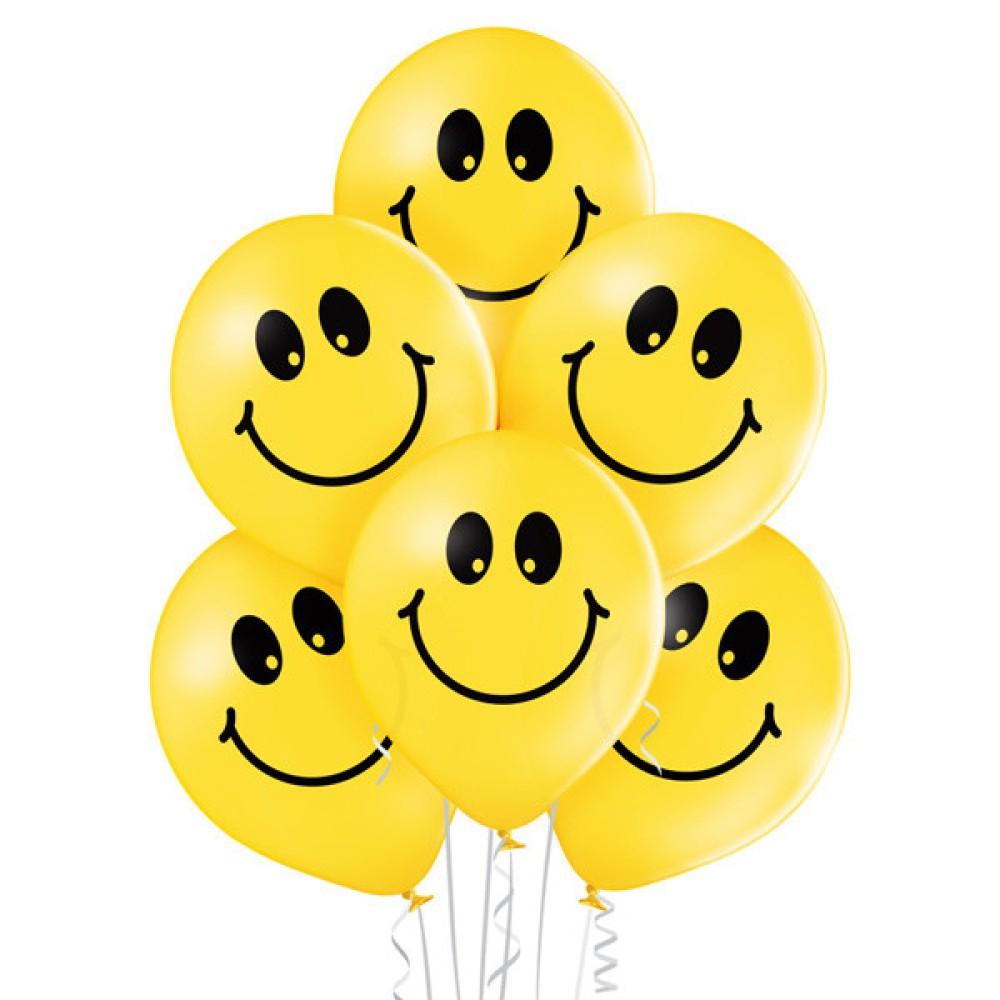 """Balony lateksowe """"Uśmiechnięte Buźki"""" - proARTI"""