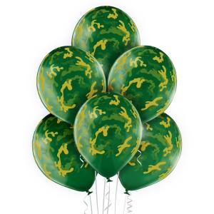 """Balony lateksowe z nadrukiem - Balony lateksowe """"Kamuflaż"""""""
