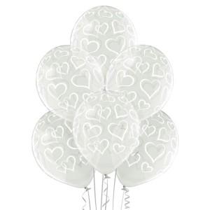 """Balony lateksowe w serduszka - Balony lateksowe """"Serca"""" / 5000279"""