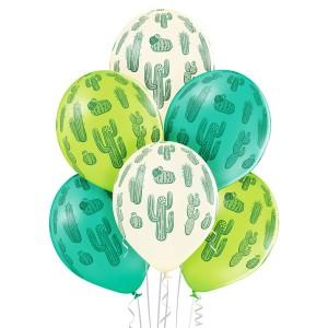 """Balony lateksowe z nadrukiem - Balony lateksowe """"Kaktusy"""""""