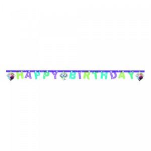 "Banner ""Frozen Snowflakes- Happy Birthday"""