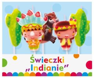 """Świeczki pikery - Świeczki pikery """"Indianie"""""""