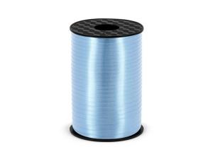 Wstążka plastikowa,błękit,5mm/225m