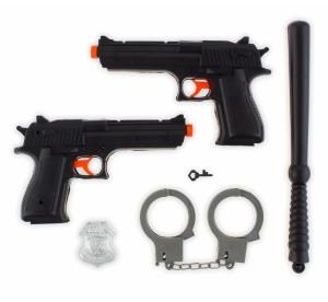 """Pistolety, karabiny - Zestaw Policjanta """"Dwa Pistolety"""""""