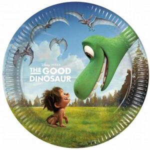 """Talerzyki z bohaterami bajek - Talerzyki papierowe """"The Good Dinosaur"""""""