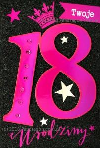 Karnet 18 Urodziny HM200-1116
