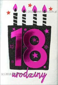 Karnet 18 Urodziny HM200-1110