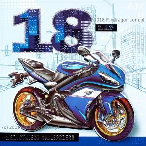Karnet 18 Urodziny - HM200-722