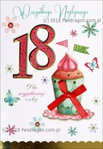 Karnet 18 Urodziny HM200-1311