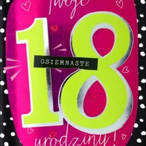 Prezenty na 18 Urodziny
