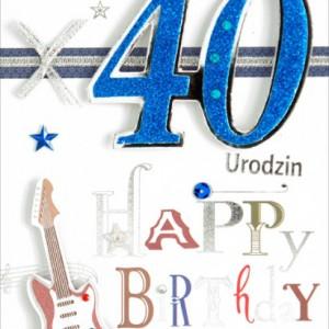Zaproszenia na 40 urodziny
