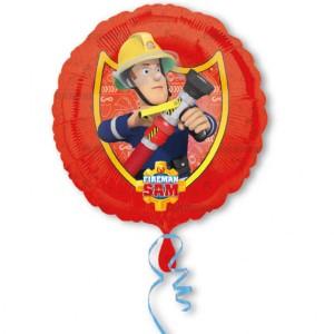 "Balon foliowy 17"" ""Strażak Sam"",43 cm"