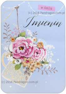 Kartki Imieninowe - Karnet Imieniny HM200-1233