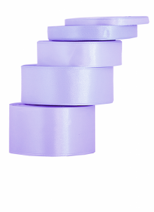Tasiemki satynowe 6 mm - Wstążka satynowa wrzosowa 6mmx32m