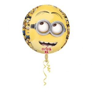 """Balon foliowy Orbz """"Minionki"""""""