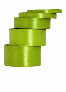 Tasiemki satynowe 25 mm - Wstążka satynowa 25mm/32mb oliwka