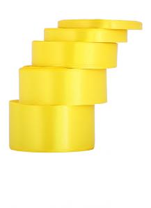 Wstążka satynowa 25mm/32mb żółta