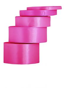 Tasiemki satynowe 50 mm - Wstążka satynowa amarantowa / 50mmx32m