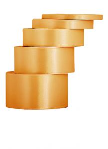 Wstążka satynowa 12mm/32mb Stare złoto