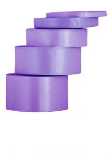 Tasiemki satynowe 50 mm - Wstążka satynowa fioletowa / 50mmx32m