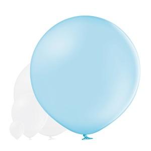 Balony lateksowe Olbo - Balon lateksowy OLBO Belbal - pastelowy jasnoniebieski / średnica 1 m