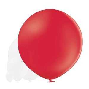"Balon lateksowy OLBO ""Pastel Red"""