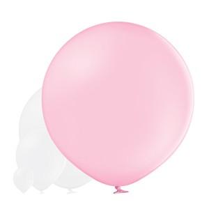 Balony lateksowe Olbo - Balon lateksowy OLBO Belbal - pastelowy pudrowy róż / średnica 1 m