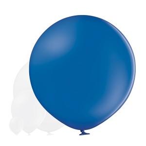Balony lateksowe Olbo - Balon lateksowy OLBO Belbal - pastelowy granatowy / średnica 1 m