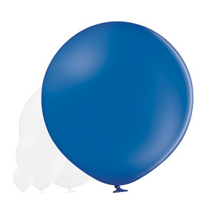 "Balon lateksowy OLBO ""Pastel Royal Blue"""