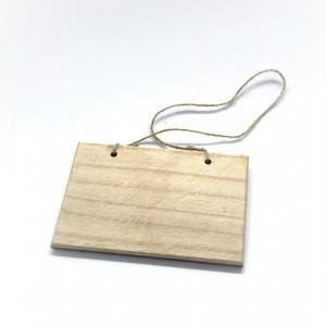 Tabliczki drewniane