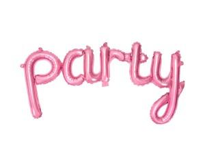 """Balon foliowy napis """"Party"""""""
