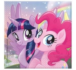 """Serwetki papierowe """"Pony & Friends"""" 33x33 cm"""