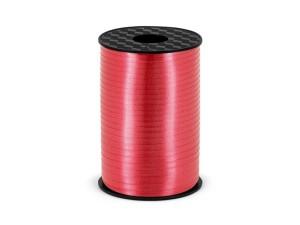 Wstążka plastikowa czerwony, 5mm/225m