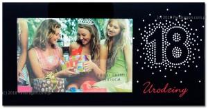 Ramki na zdjęcia - Ramka na zdjęcie na 18 urodziny / Harmony18-2