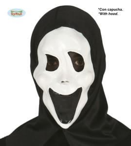"""Maski na Halloween - Maska na Halloween """"Krzyk"""" / 111-2676"""